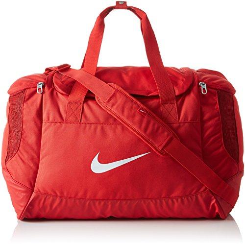 Nike Unisex Sporttasche Club Team Swoosh, red/white, 53 x 37 x 27 cm, 52 Liter, BA5193-657
